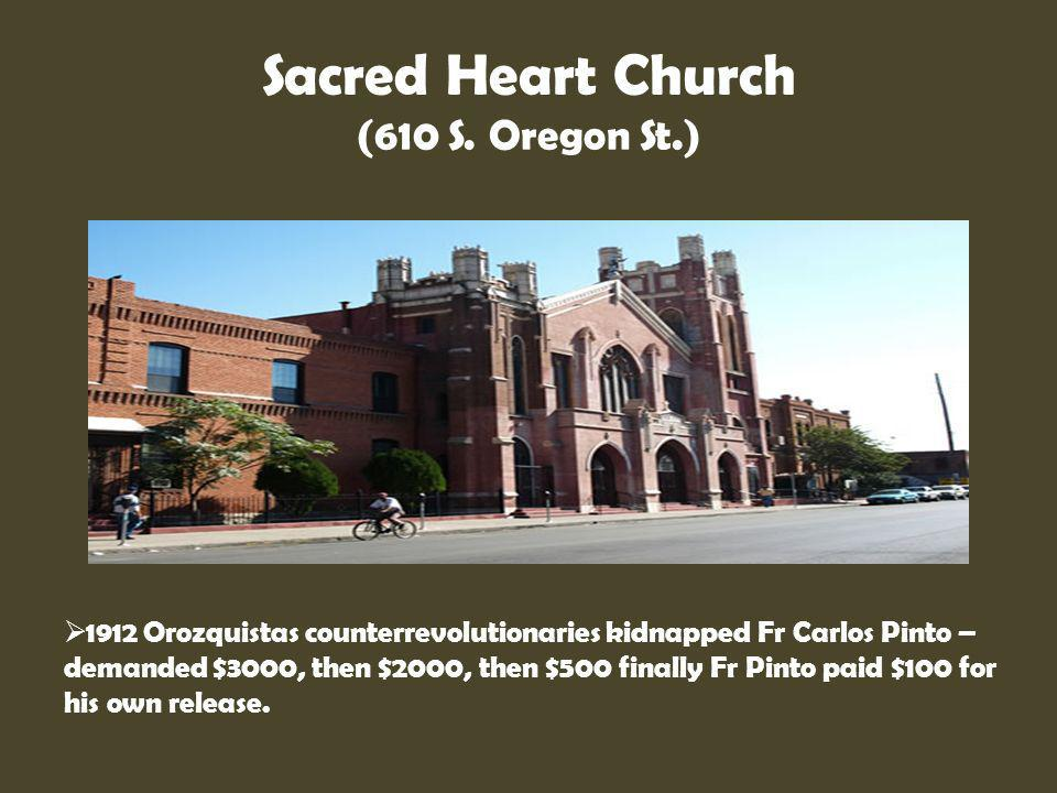Sacred Heart Church (610 S. Oregon St.)