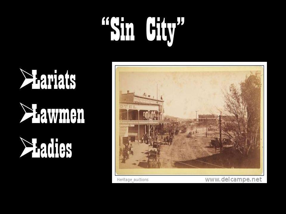 Sin City Lariats Lawmen Ladies