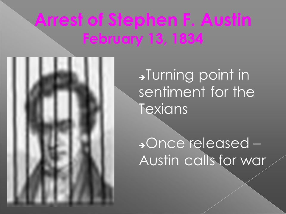 Arrest of Stephen F. Austin