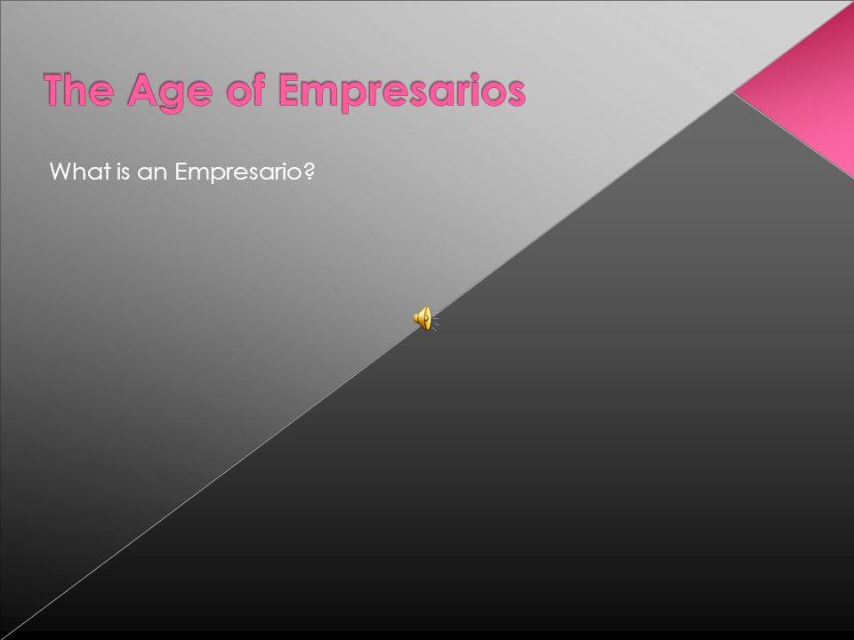 What is an Empresario