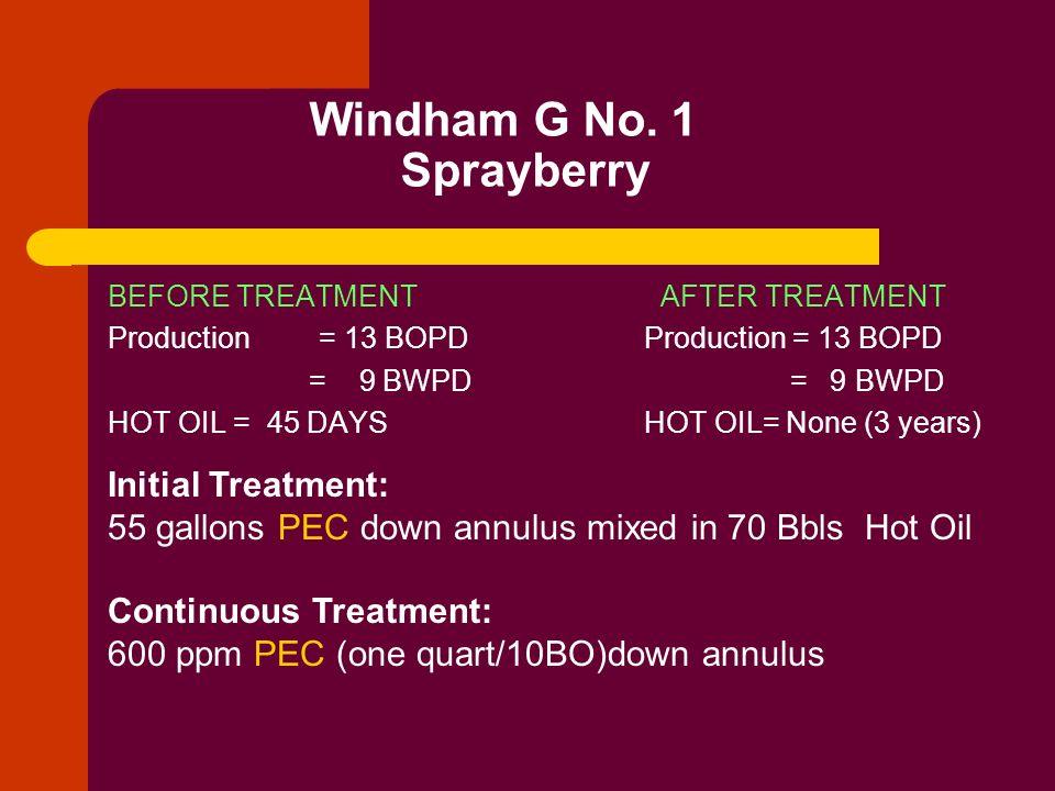 Windham G No. 1 Sprayberry