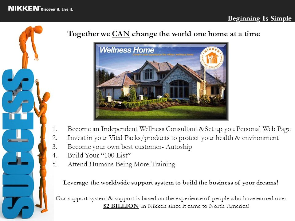 Together we CAN change the world one home at a time