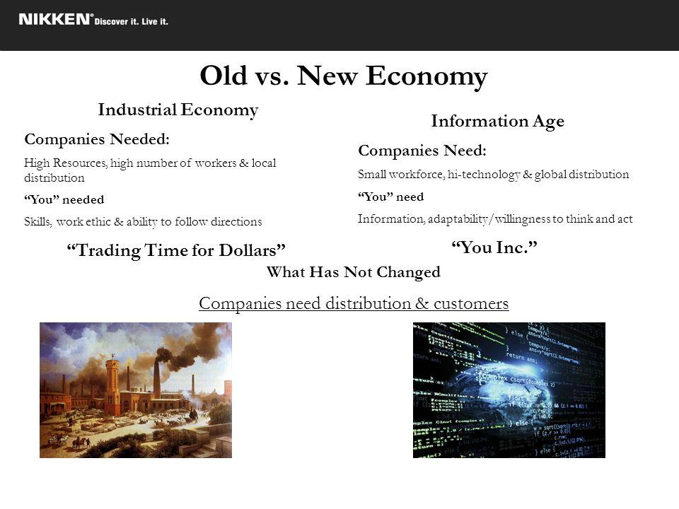 Companies need distribution & customers