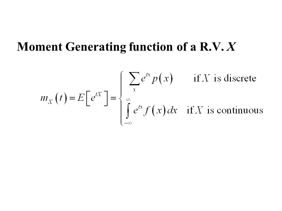 moment generating function of poisson distribution pdf
