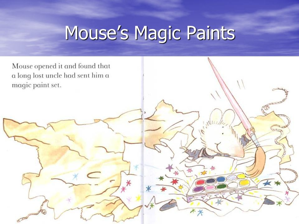 Mouse's Magic Paints