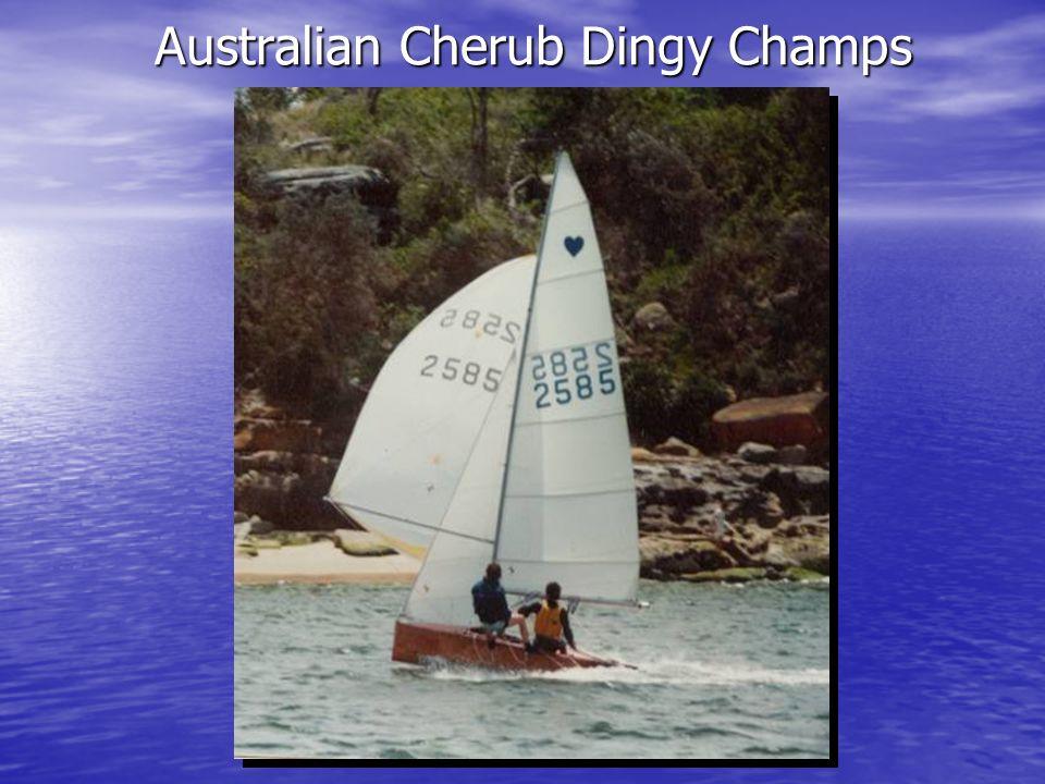 Australian Cherub Dingy Champs