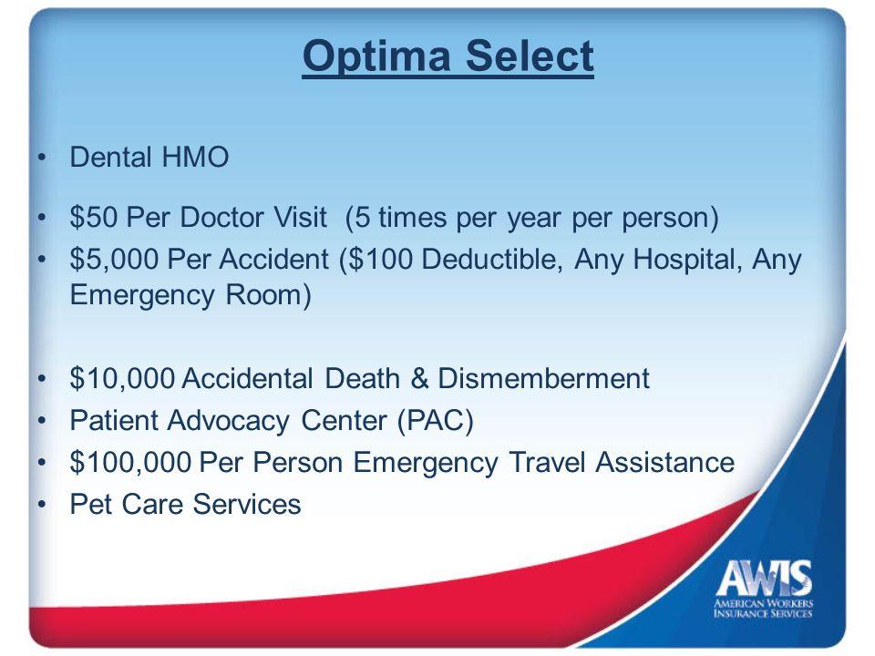 Optima Select Dental HMO