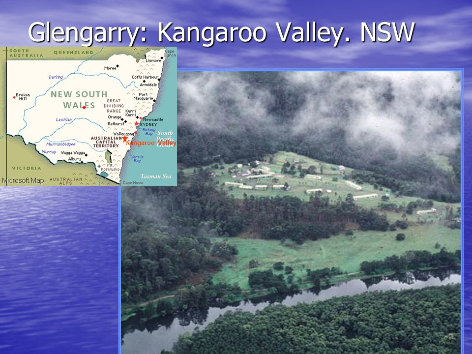 Glengarry: Kangaroo Valley. NSW