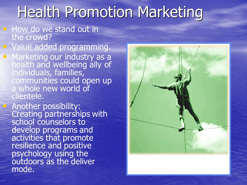 Health Promotion Marketing