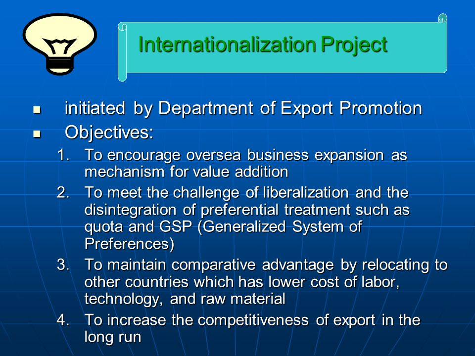 Internationalization Project