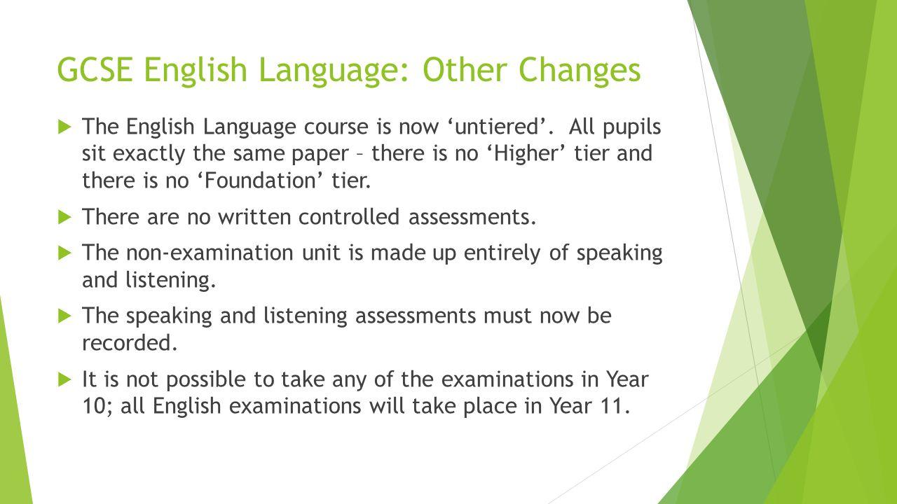 how to study for english language gcse