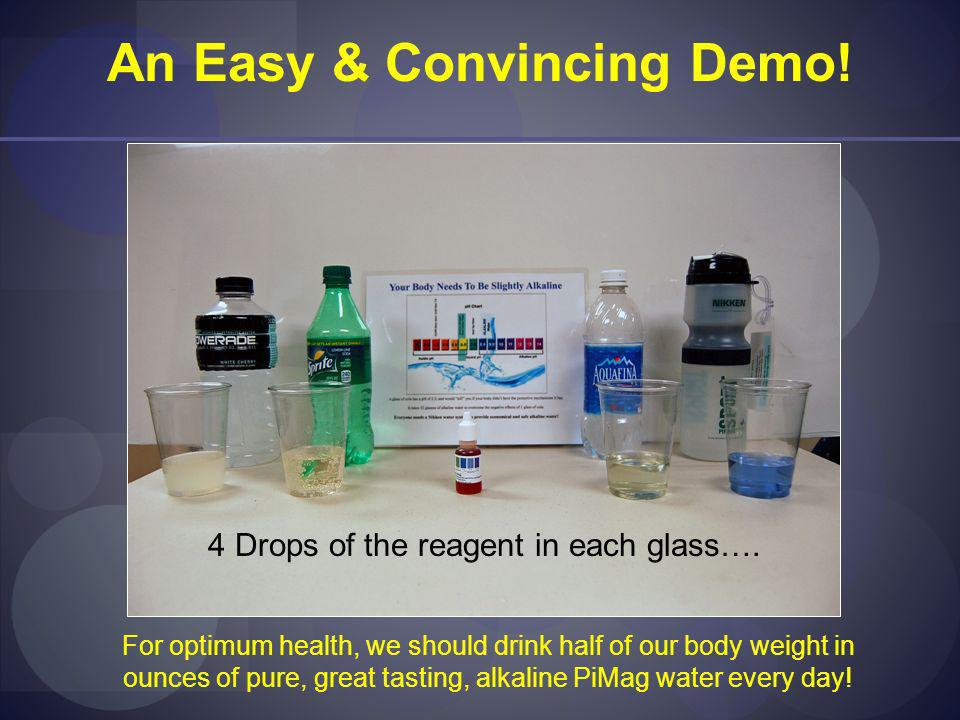 An Easy & Convincing Demo!