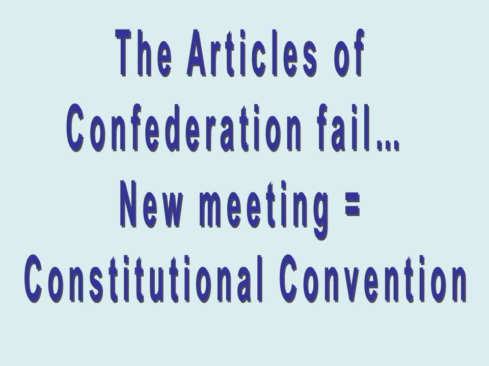 articles in confederation meeting