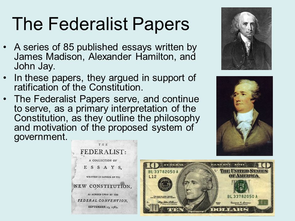 the federalist papers john jay essay
