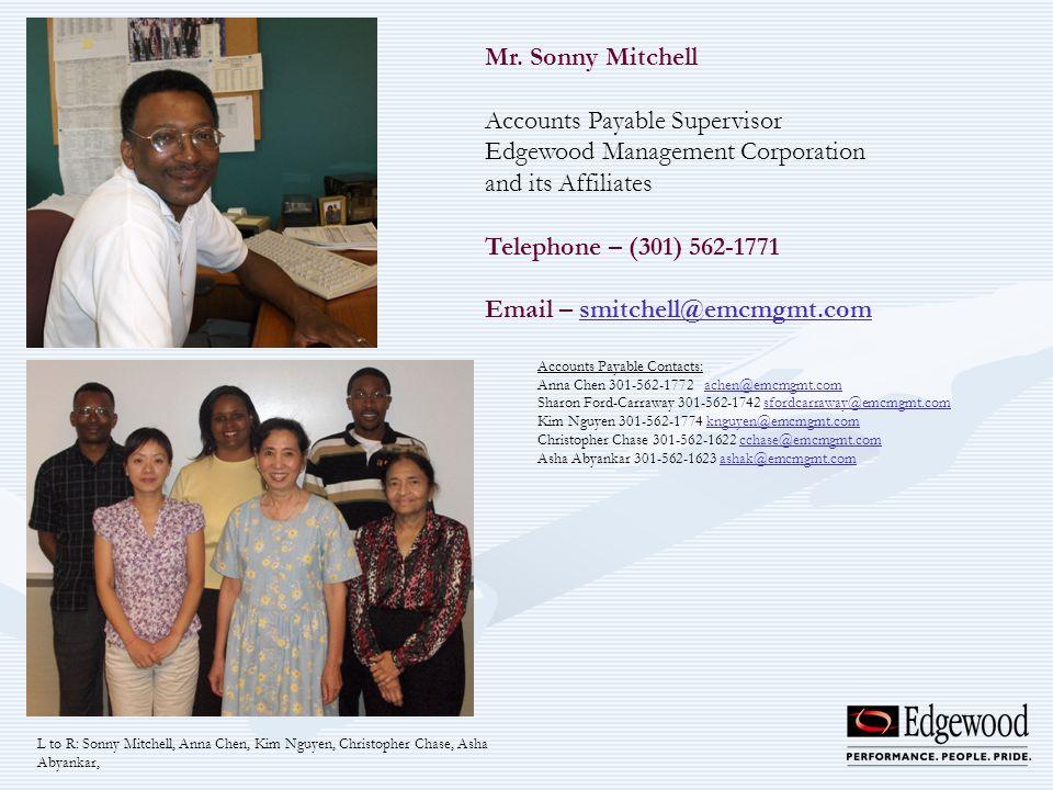 Accounts Payable Supervisor Edgewood Management Corporation