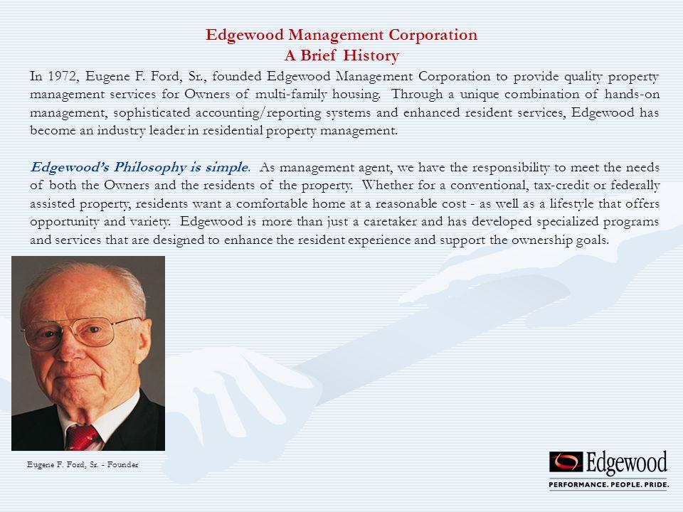Edgewood Management Corporation