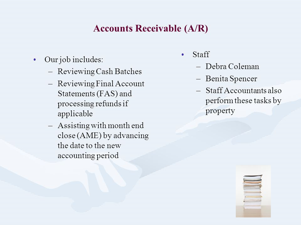 Accounts Receivable (A/R)
