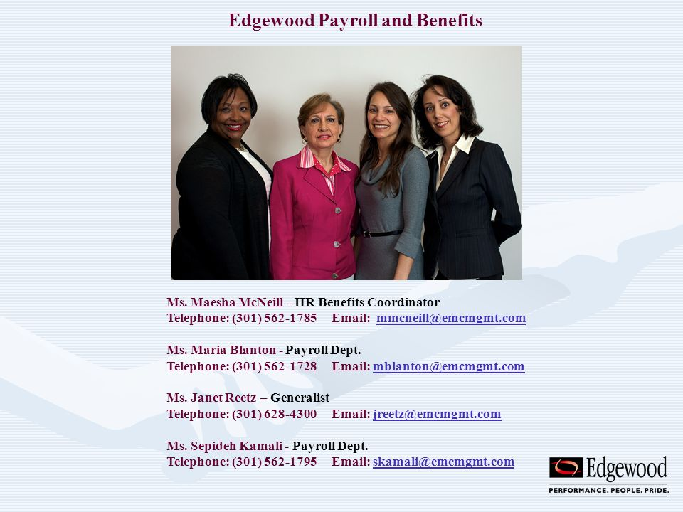 Edgewood Payroll and Benefits
