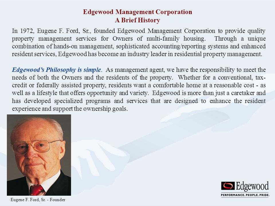 Edgewood Management Corporation