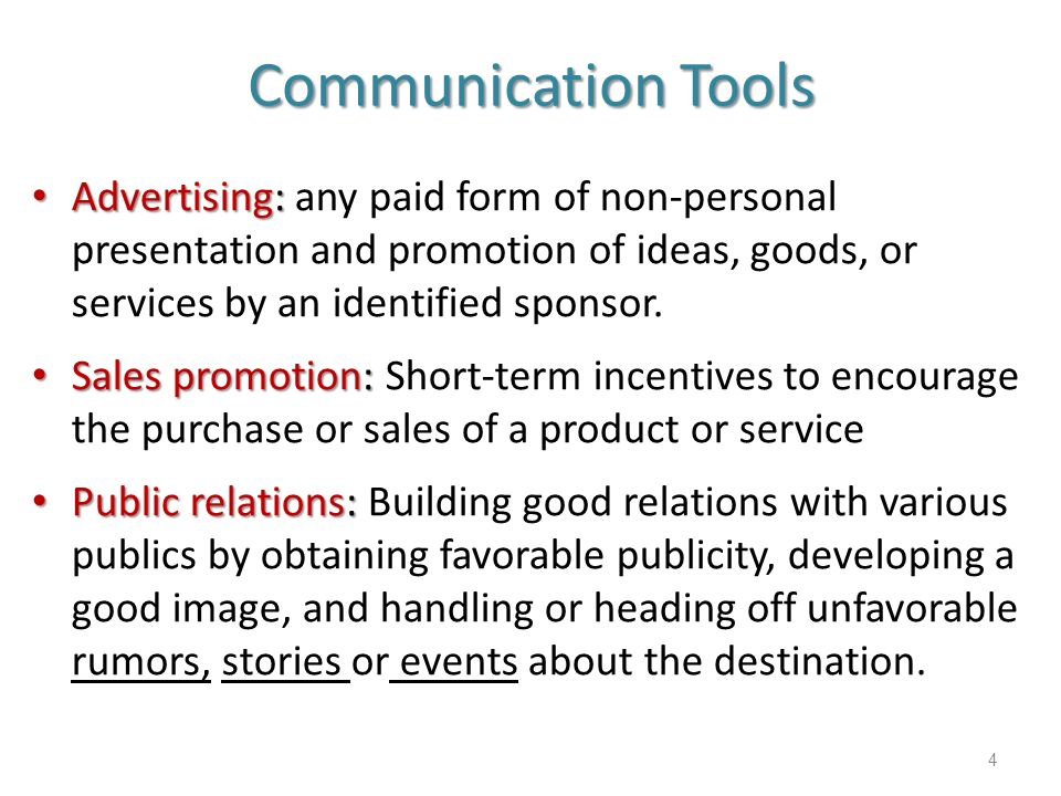 advertising any paid form of nonpersonal Promotion strategies promotion (marketing communications) mix advertising any paid form of nonpersonal presentation of ideas, goods or services by an identified sponsor personal selling a paid form of personal presentation of ideas, goods or services by an identified sponsor publicity.
