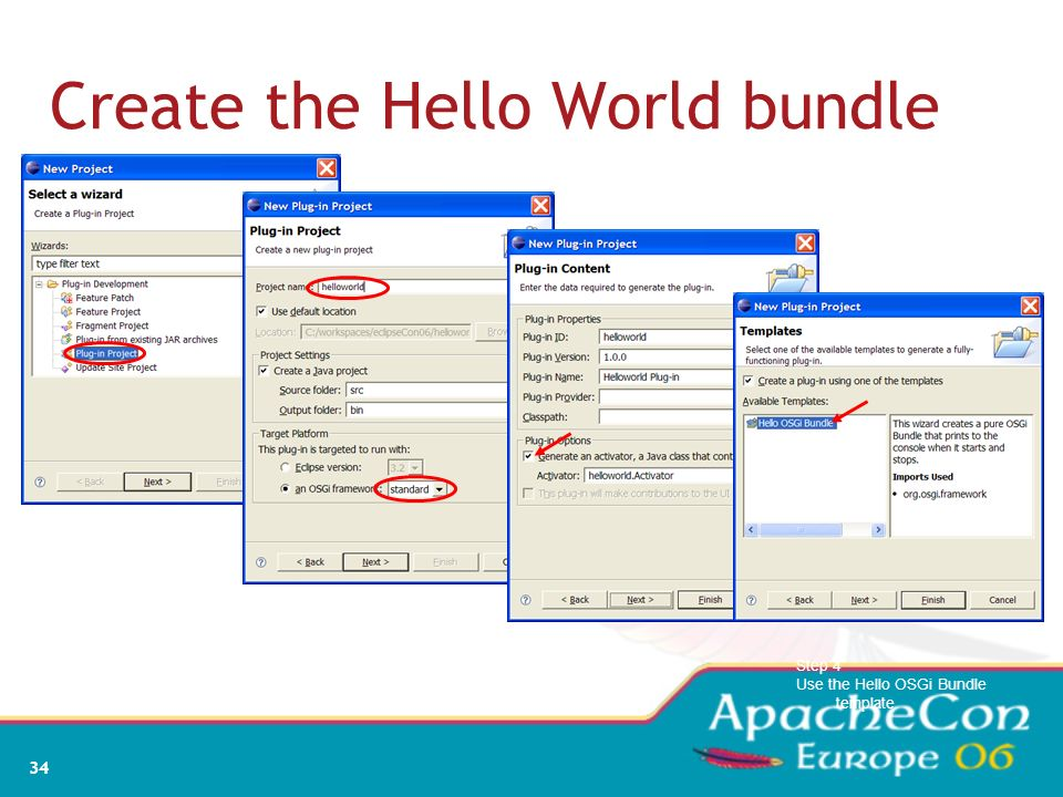 Create the Hello World bundle