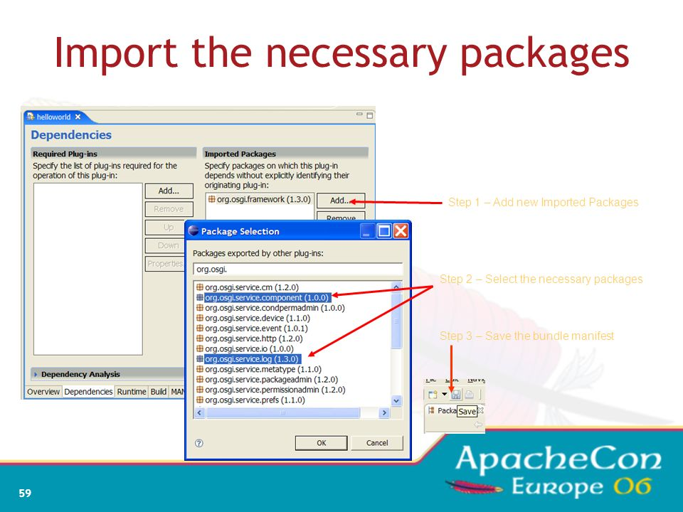 Import the necessary packages