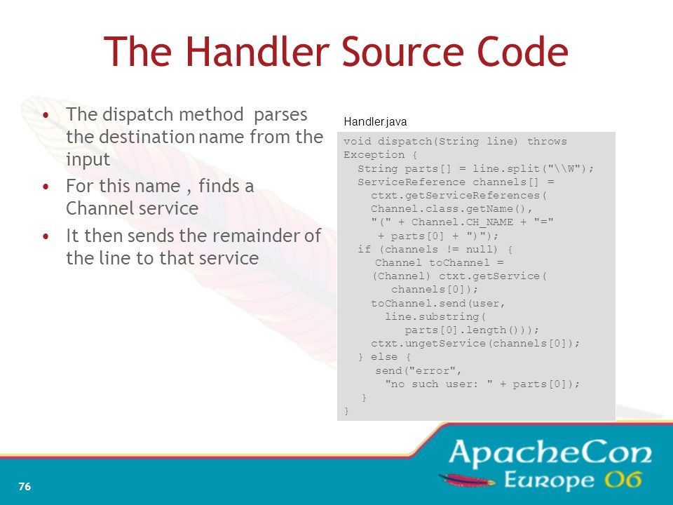 The Handler Source Code