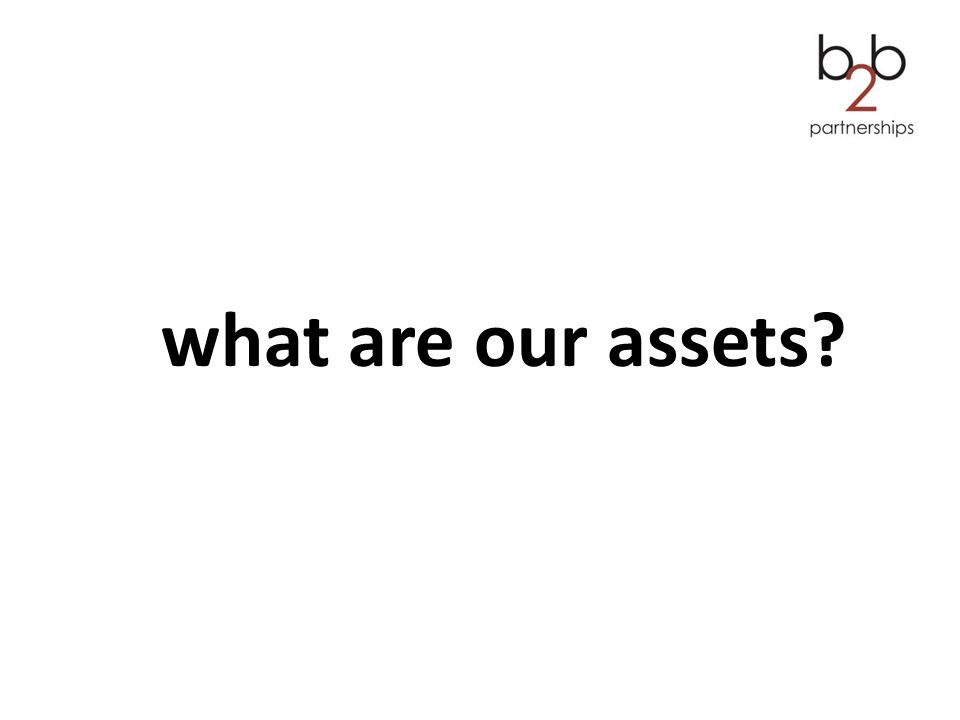 what are our assets