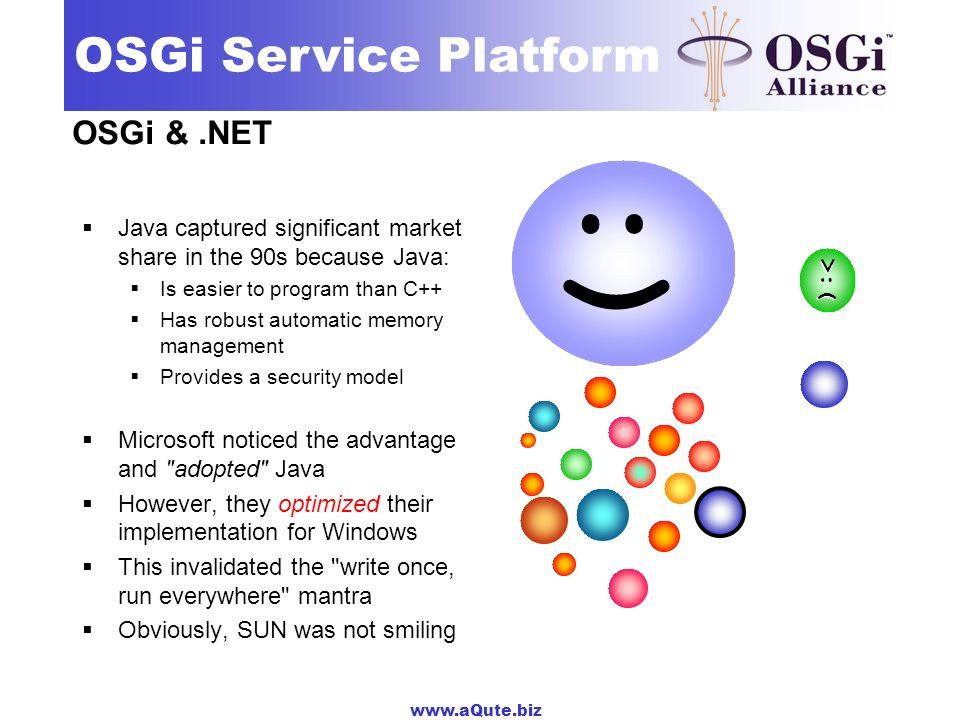 :| :) :) :) OSGi & .NET :-( :|