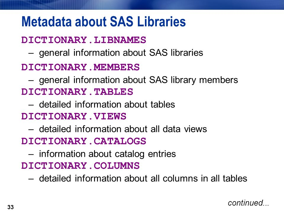 sas joining tables of permanent library