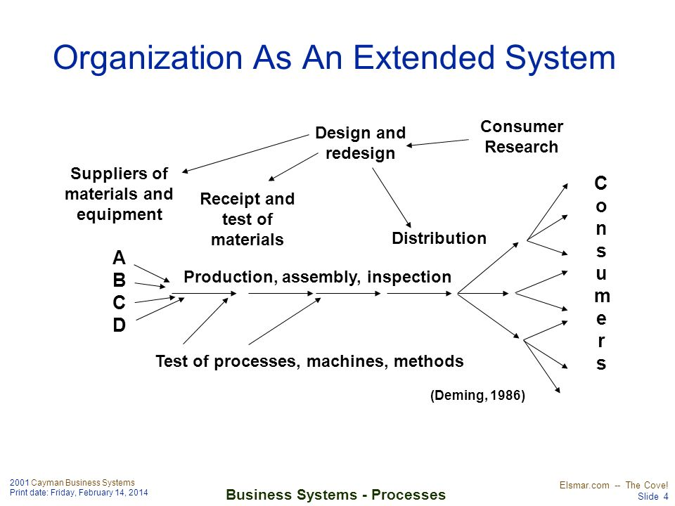 Organization As An Extended System