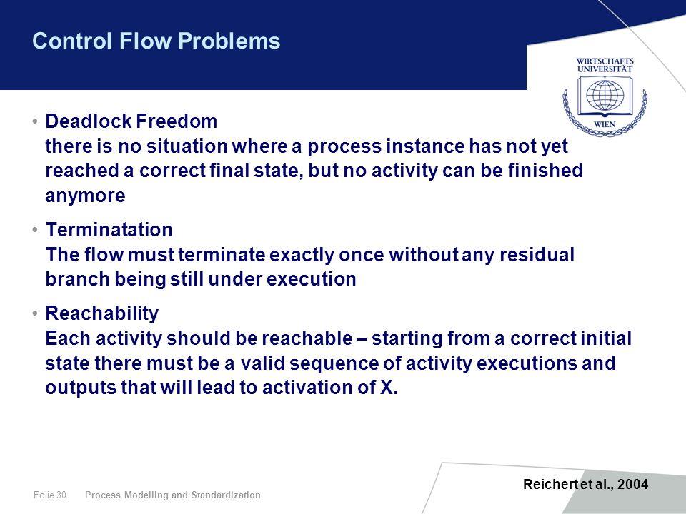 Control Flow Problems