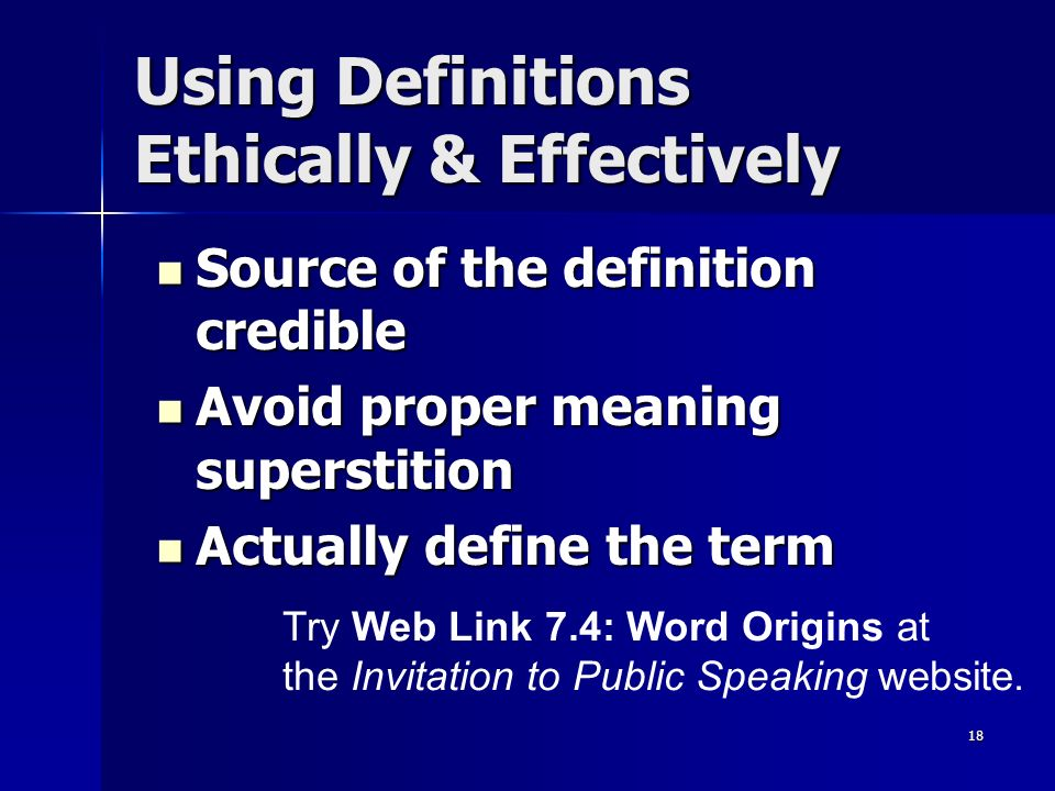 Developing supporting your ideas ppt video online download using definitions ethically effectively stopboris Images