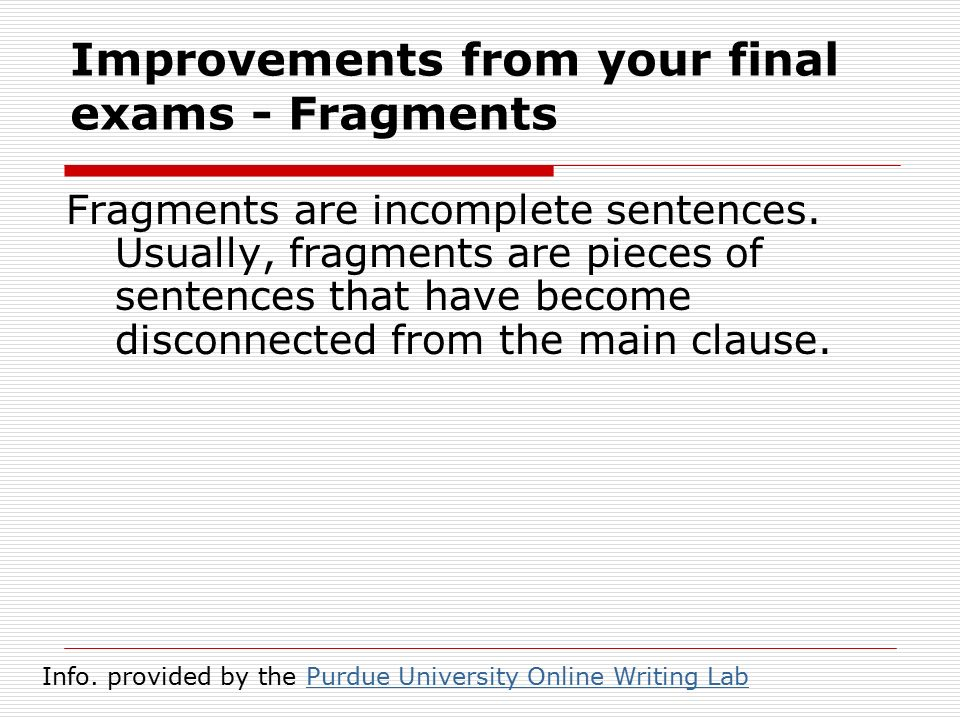 essay improvements ppt  4 improvements