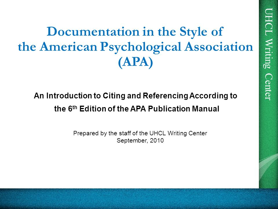 an analysis of american psychological association apa The american psychological association (apa) represents 115,700  apa is a  scientific and professional organization categorized as a 501c(3) and has  with  the ability to analyze the mission and business drivers of apa,.