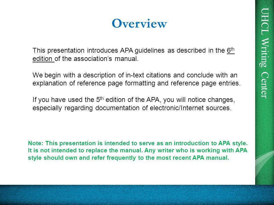 apa 6th edition reference format