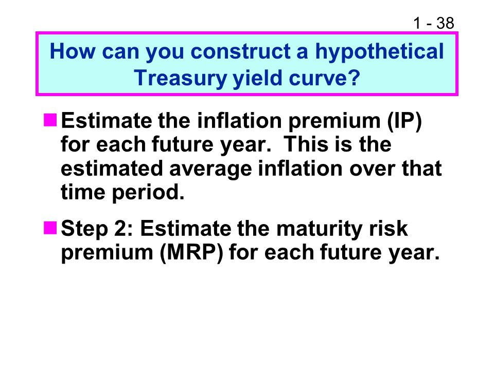 How can you construct a hypothetical Treasury yield curve