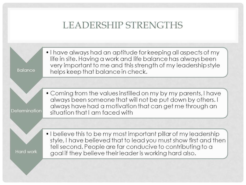 essay about leaders leadership portfolio