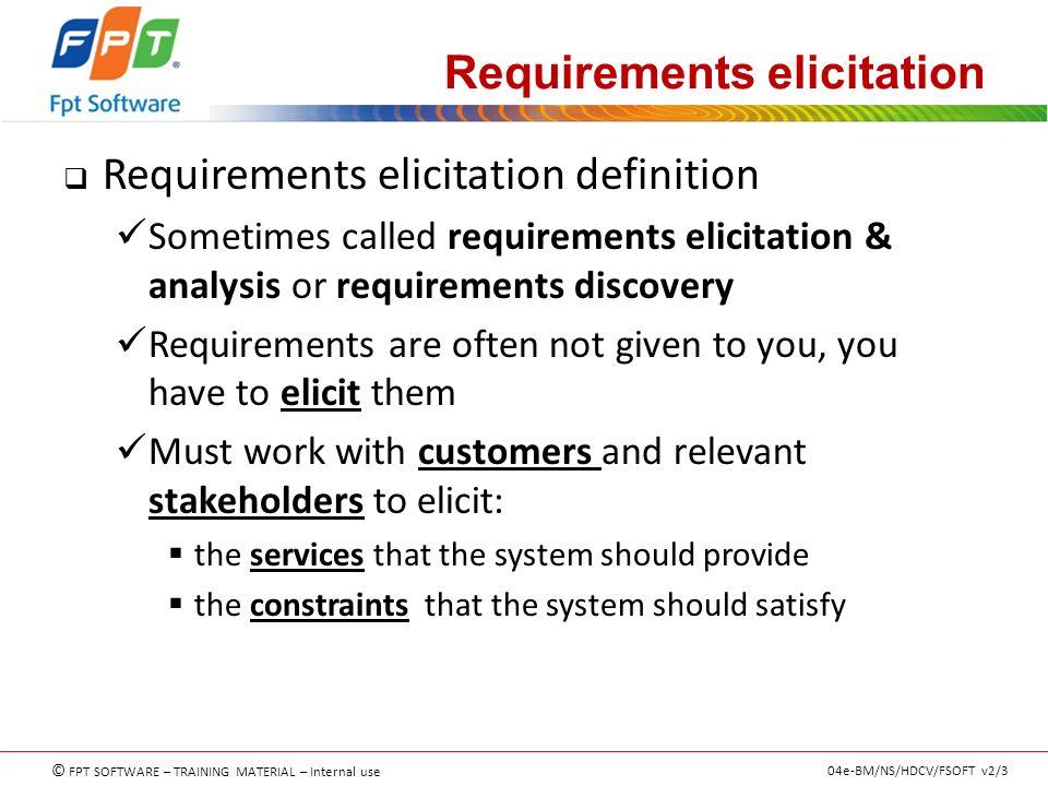 Superior Elicit Definition