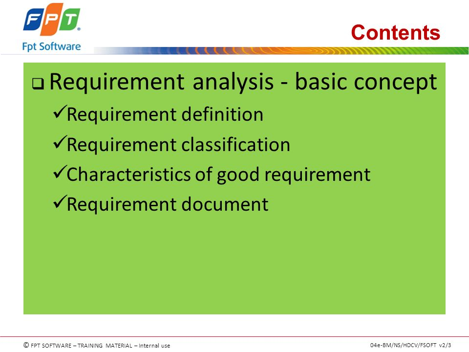 Requirement Analyzing  Understanding RaUid  Ppt Download