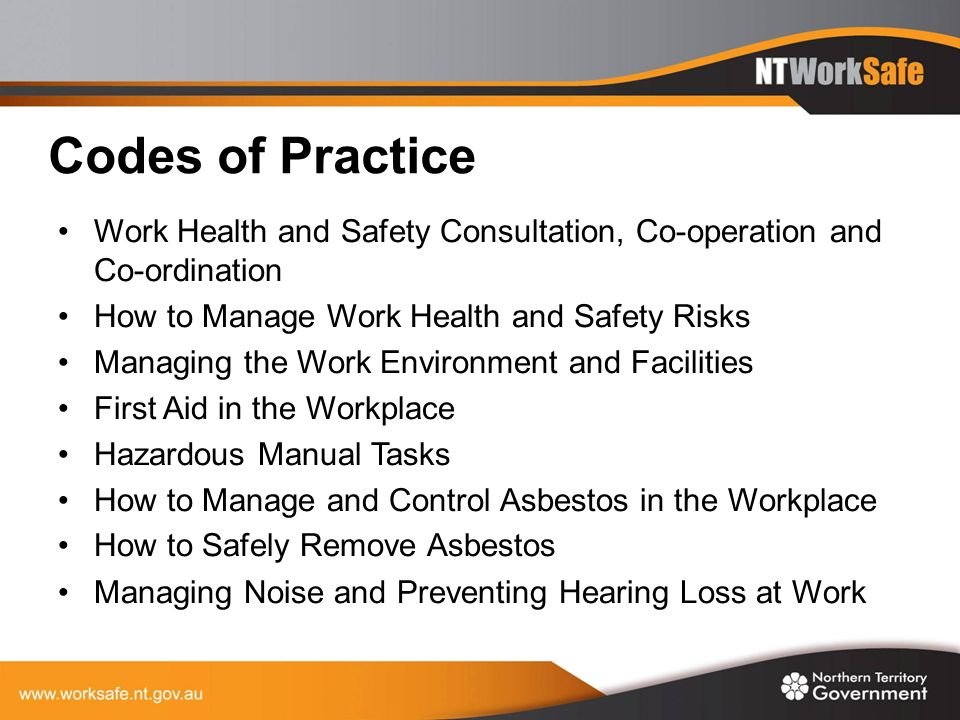 how to manage work health and Work safety, health & security home advertising  this reduces work productivity as their work will slow down with more unofficial breaks just to manage the pain.