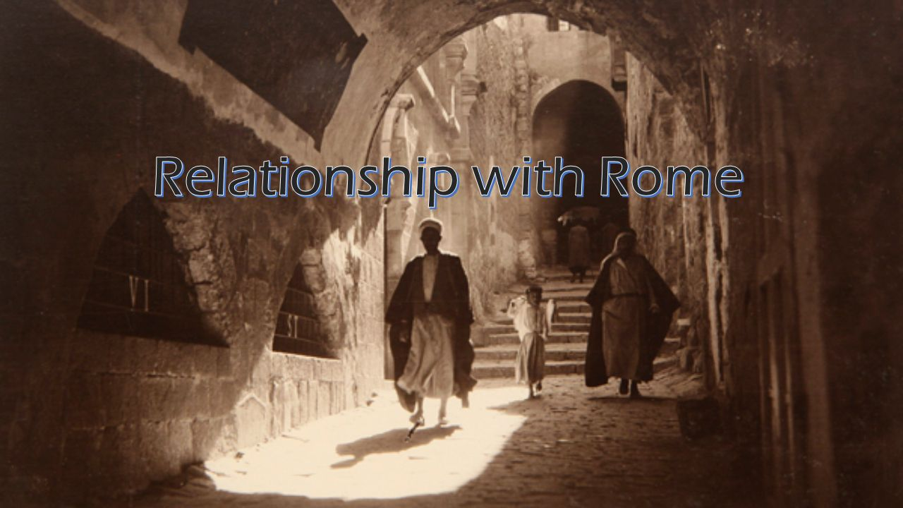 relationship of roman theology and judaism
