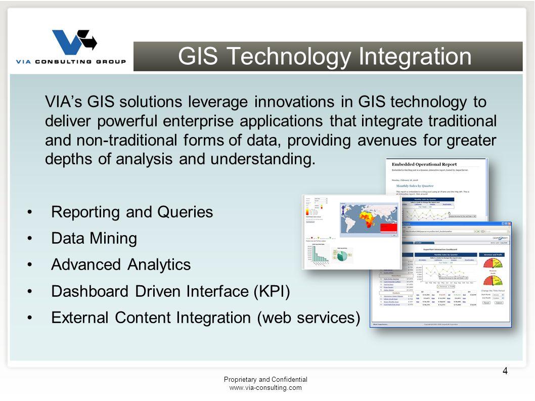 GIS Technology Integration