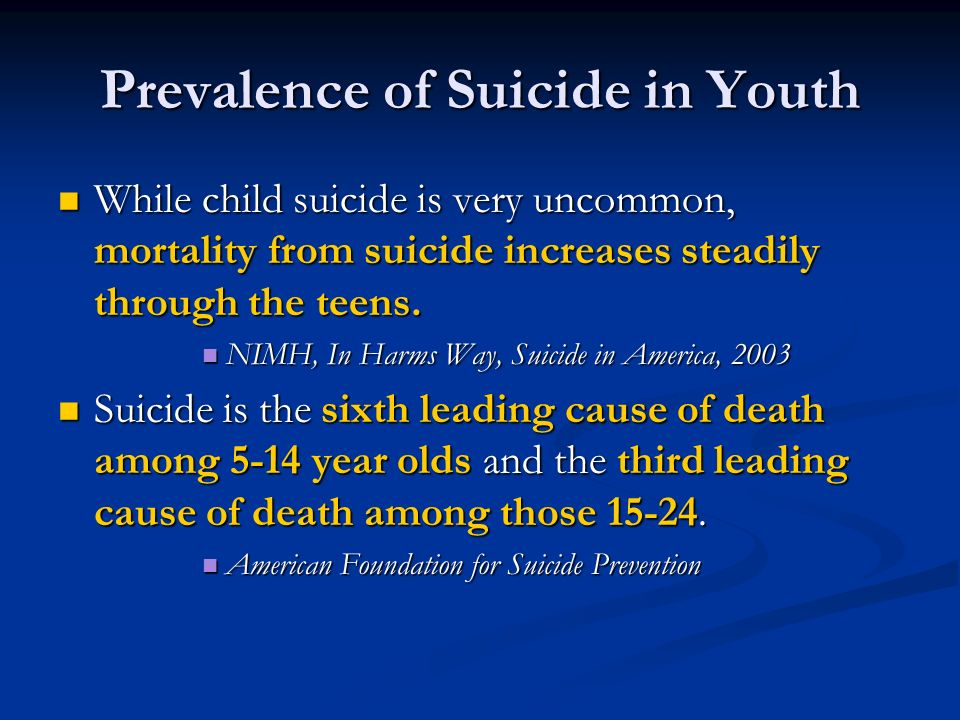 Is The Recent Rise In Utah Youth Suicides Really Such A Mystery?