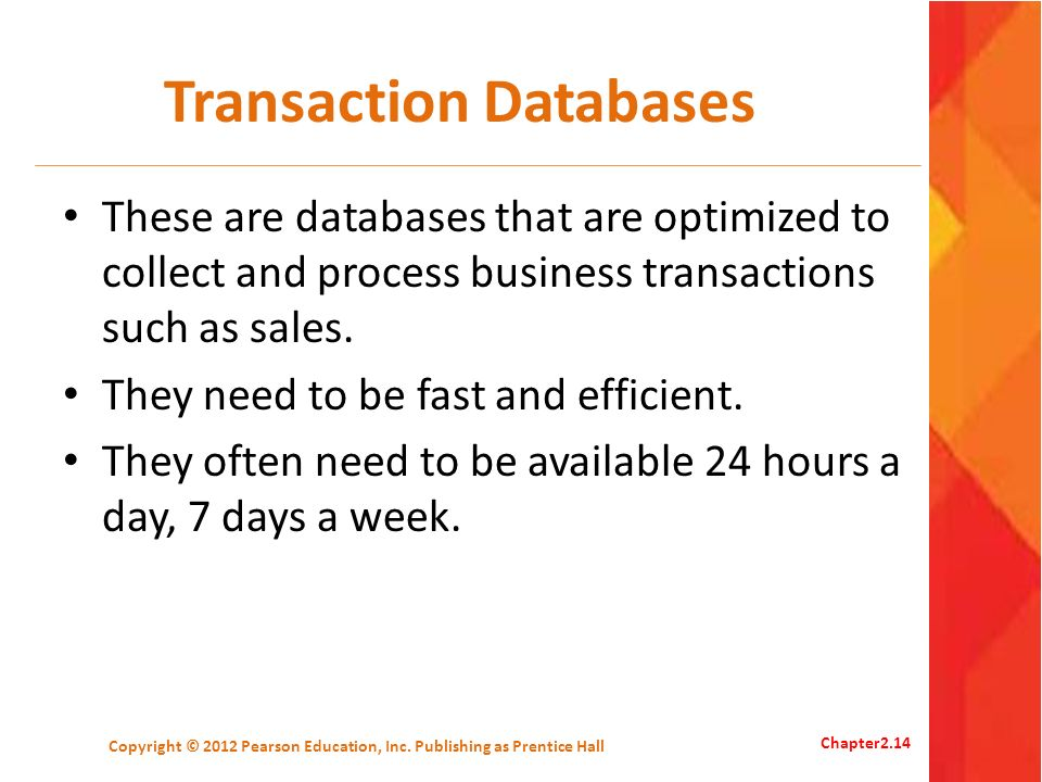 Transaction Databases