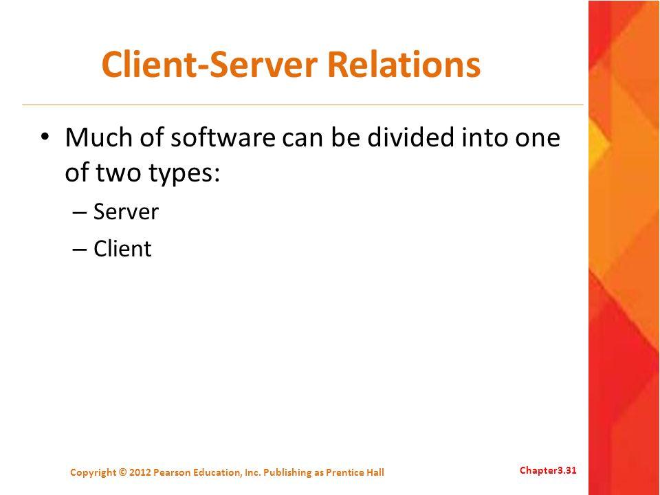 Client-Server Relations