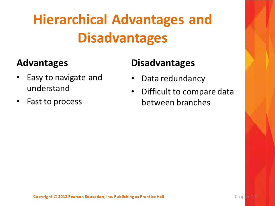 Hierarchical Advantages and Disadvantages