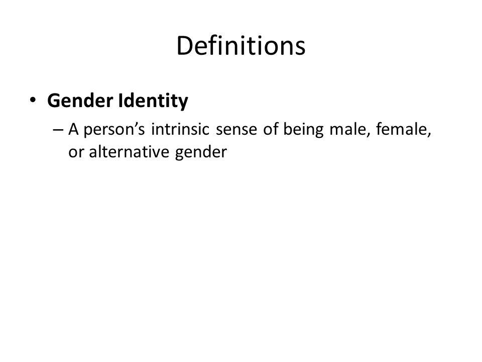 defining gender identity