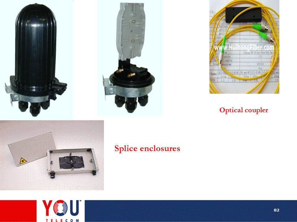 Optical coupler Splice enclosures