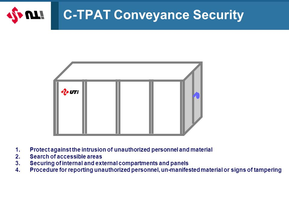 C-TPAT Conveyance Security